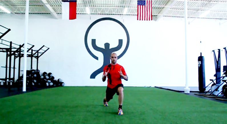 Traveling Lunge with Twist