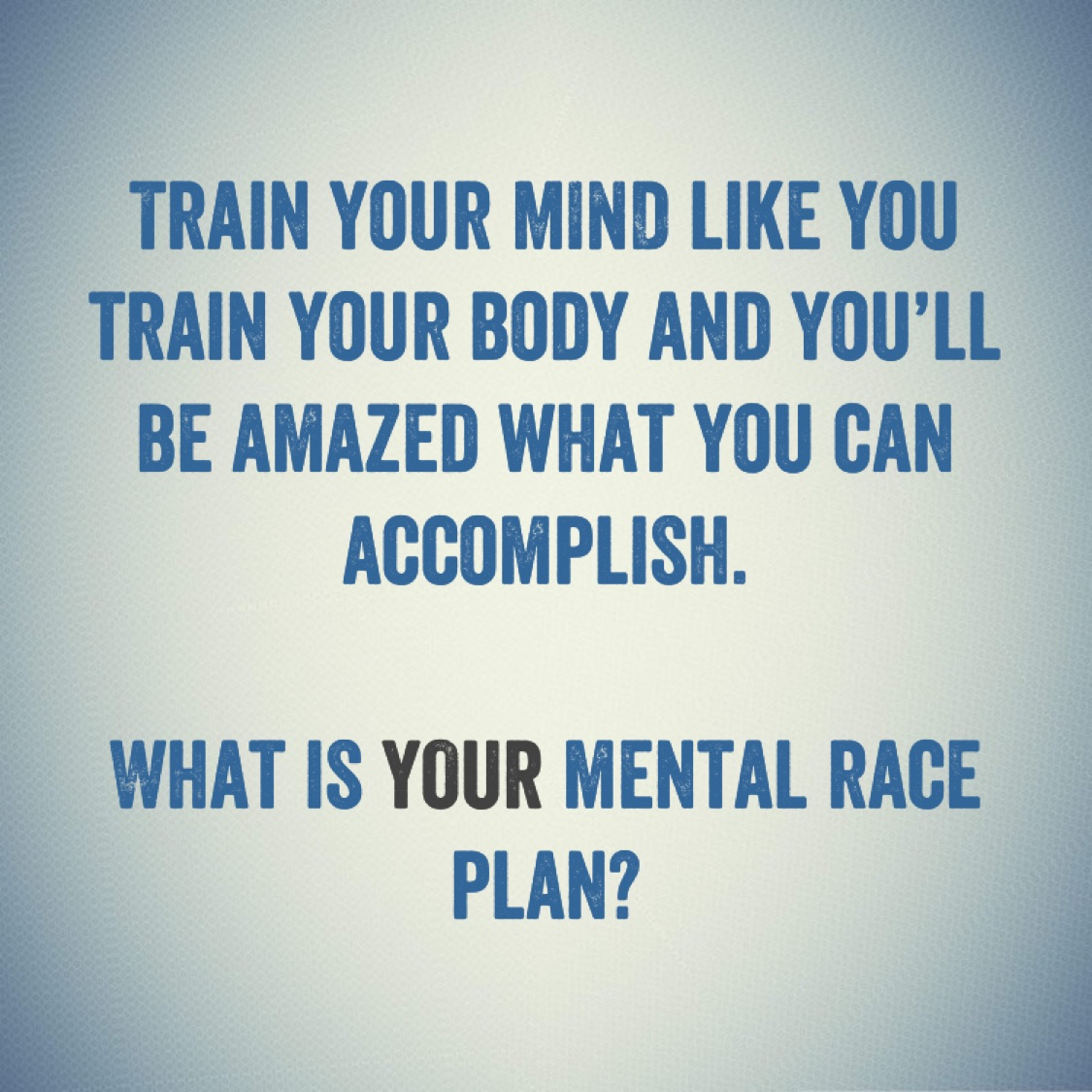Mindset & Meditation: Your Mental Race Plan