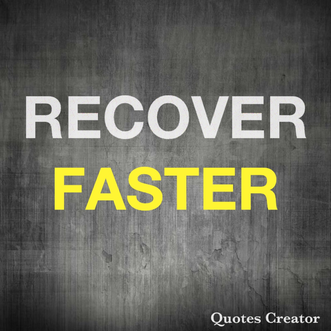 5 Must's to Improve Your Recovery Time