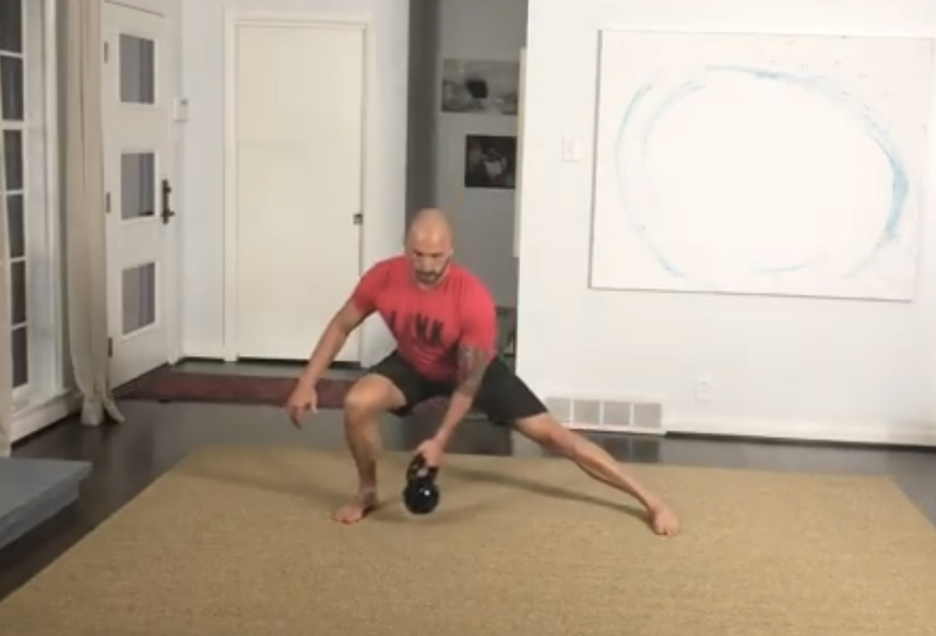 Movement: Kettlebell Rebounding Lateral Lunge