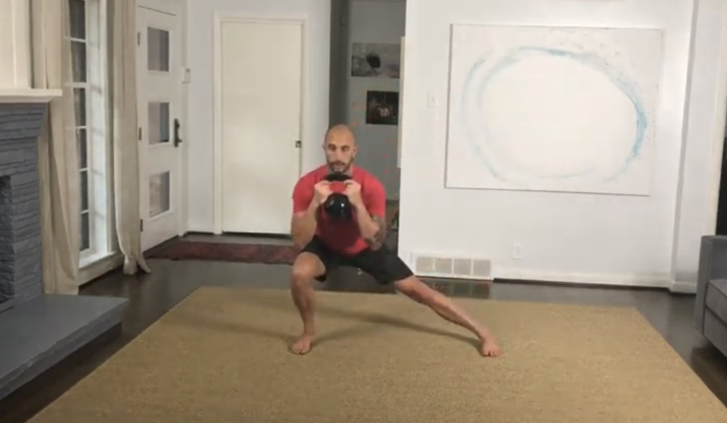 Movement: Goblet Reverse Lateral Lunge
