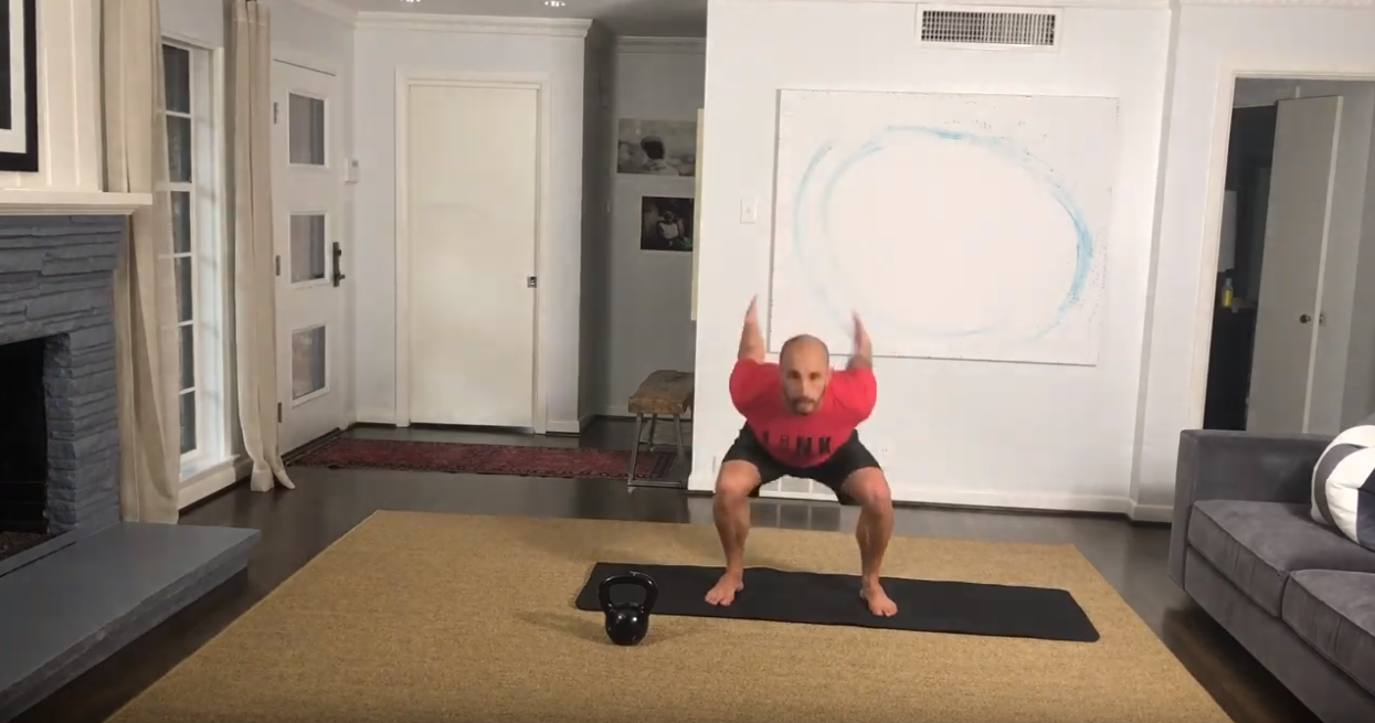 Movement: Bodyweight Rebounding Squat