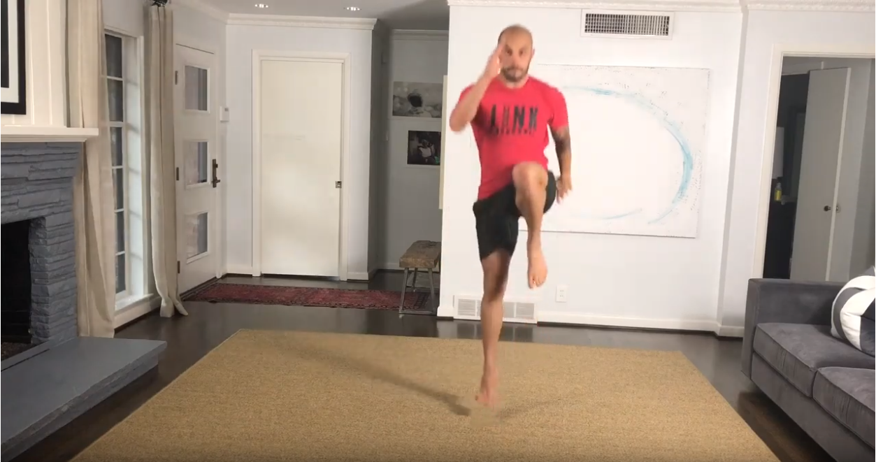 Movement: Reverse Lunge Reverse Plyo